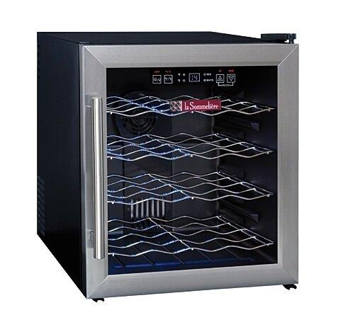 Монотемпературный винный шкаф, LaSommeliere модель LS16