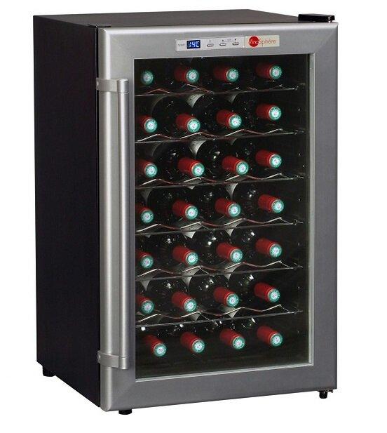 Монотемпературный винный шкаф, LaSommeliere модель VN28C