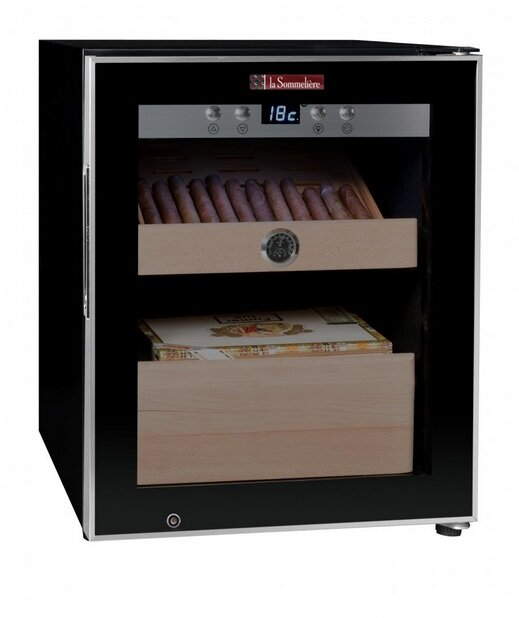 Однозонный шкаф для сигар, LaSommeliere модель CIG250