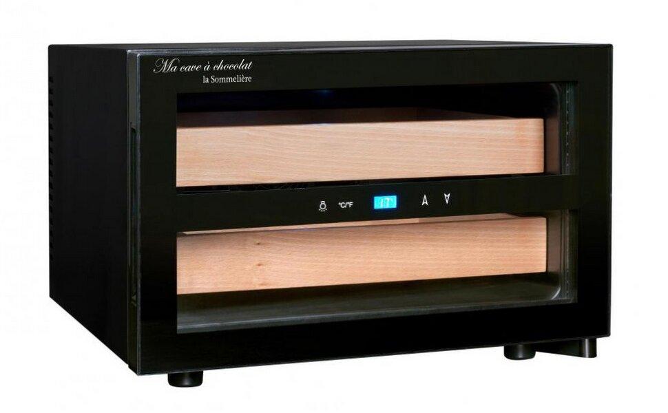 Шкаф для шоколада LaSommeliere CAC01 (1 зона, Пельтье, выбор от 8 до 18С)
